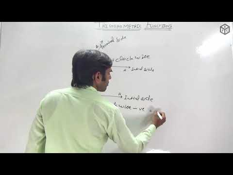 Measurement Of Angles (Degree And Radian) In Hindi | Trigonometric Functions Class 11th