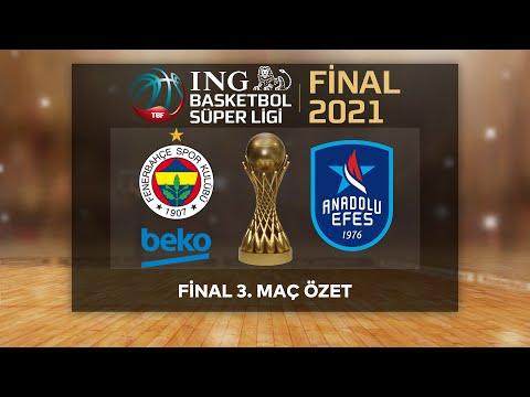 Şampiyon Anadolu Efes!   BSL Play-Off Final 3. Maç Özet   Fenerbahçe Beko 66-93