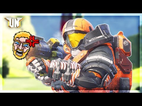 Halo 5 - When A Hater Ruins The Unfrigginbelievable! (UberRage)