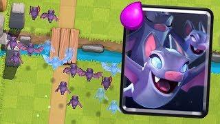 Clash Royale - MAXED BATS! Level 13 Bat Storm
