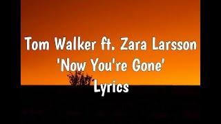 Tom Walker ft. Zara Larsson - Now You're Gone (Lyrics)
