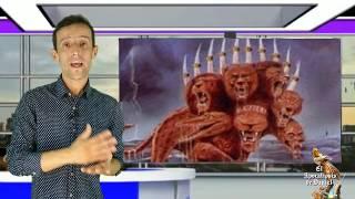 Apocalipsis 17 El misterio de la bestia escarlata, explicación de las siete cabezas.  video 4