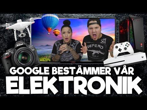 Google Bestämmer Vilken Elektronik Vi Ska Köpa