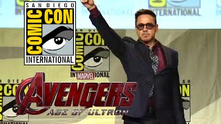 Comic Con 2014: Avengers 2: Age of Ultron Hall H Panel - Part 1 (2014) Marvel Movie HD