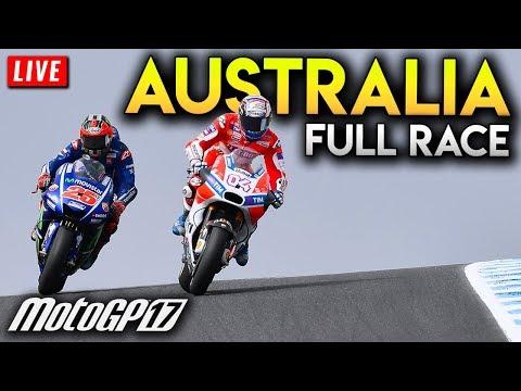 MotoGP Australia 2017 Full Race Distance (MotoGP 2017 PS4 Gameplay Live Stream - Phillip Island GP)