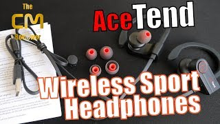 AceTend Test 🎧 Sport Wireless Headphones 🚿 - Hands-on (Deutsch...