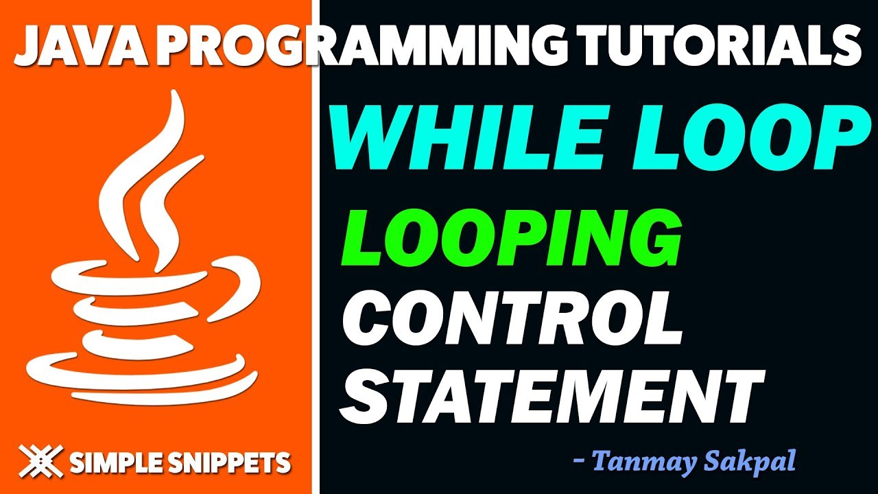 Java while loop control statement with program example java java while loop control statement with program example java programming tutorials for beginners baditri Gallery