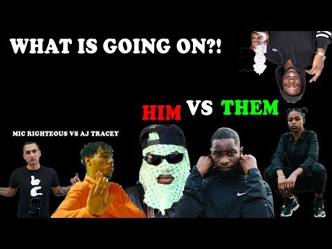 Aj Tracey Vs Mic Righteous, Uncle Rafool vs Dave, Abra & Nadia Rose