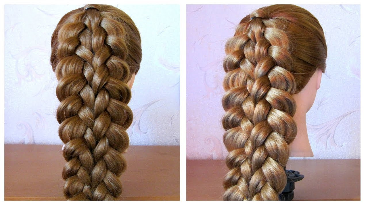 Tuto Coiffure Simple Belle Coiffure Facile A Faire Cheveux Long Mi Long Easy Braid Hairstyle Youtube