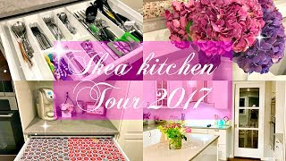 FULL IKEA KITCHEN TOUR 2017 // organization & decor