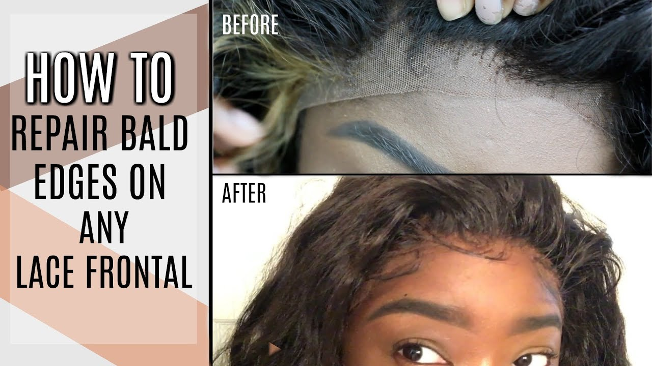 How To Repair Your Balding Edgeless Frontal Like New Again Low
