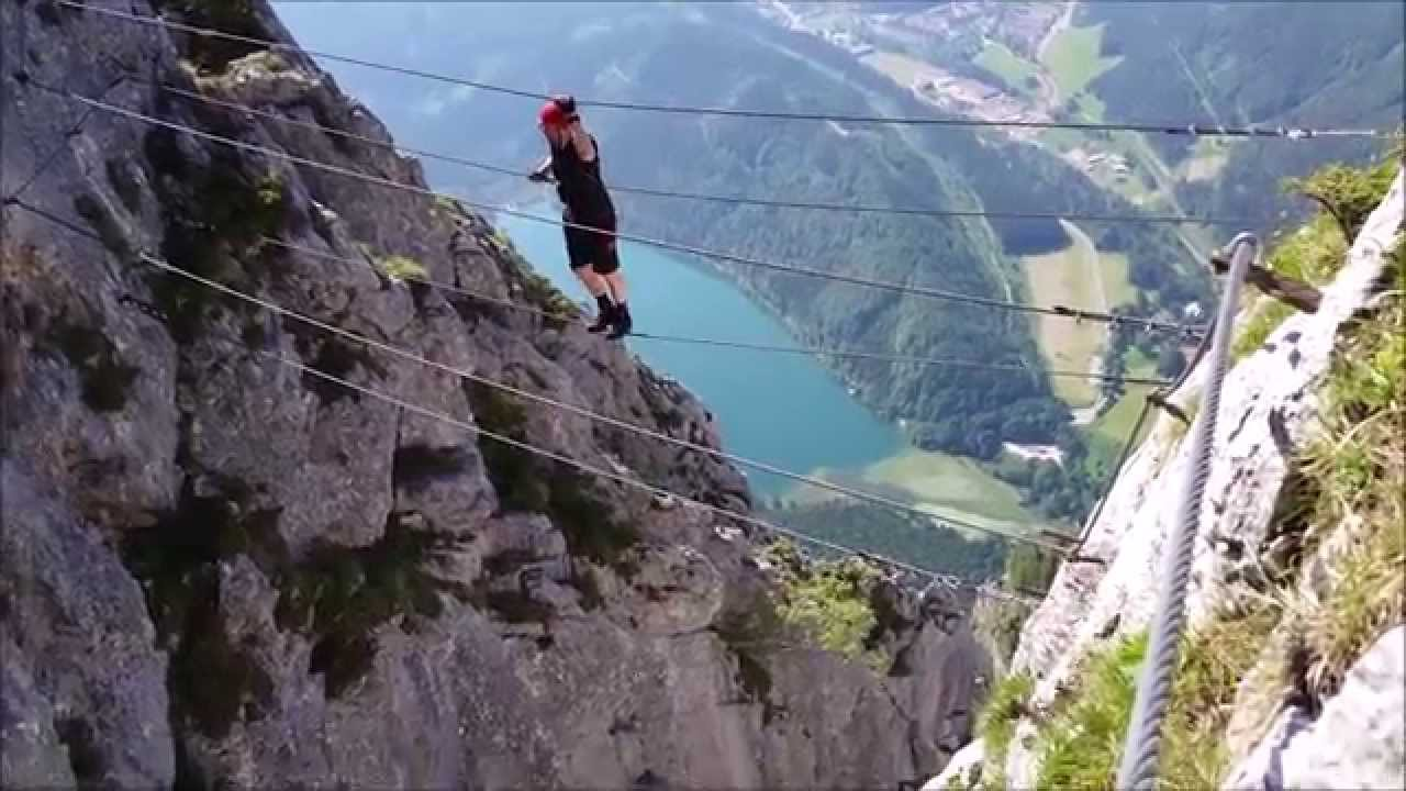 Franz Josef Klettersteig : Kaiser franz josef klettersteig youtube