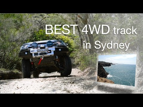 This must be the BEST 4WD track near Sydney! Ford Everest at Catherine Hill Bay