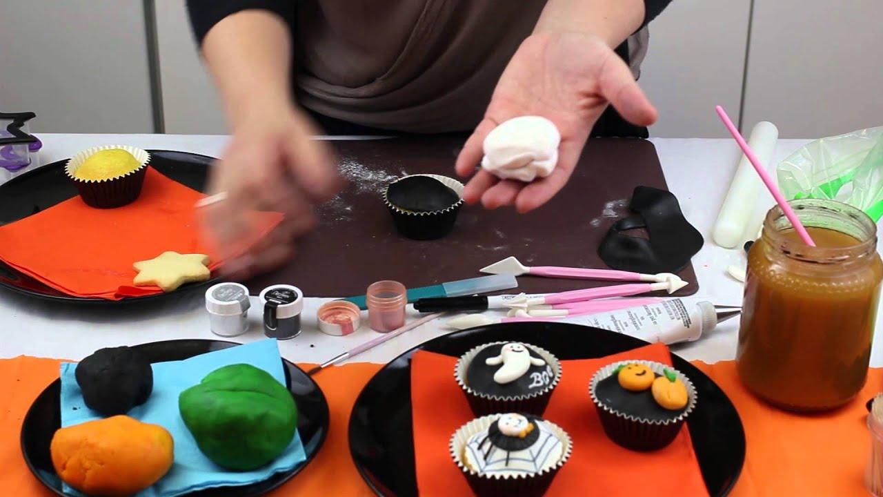 Cucina con Mamma: Tutorial Biscotti e CupCake per Halloween - YouTube