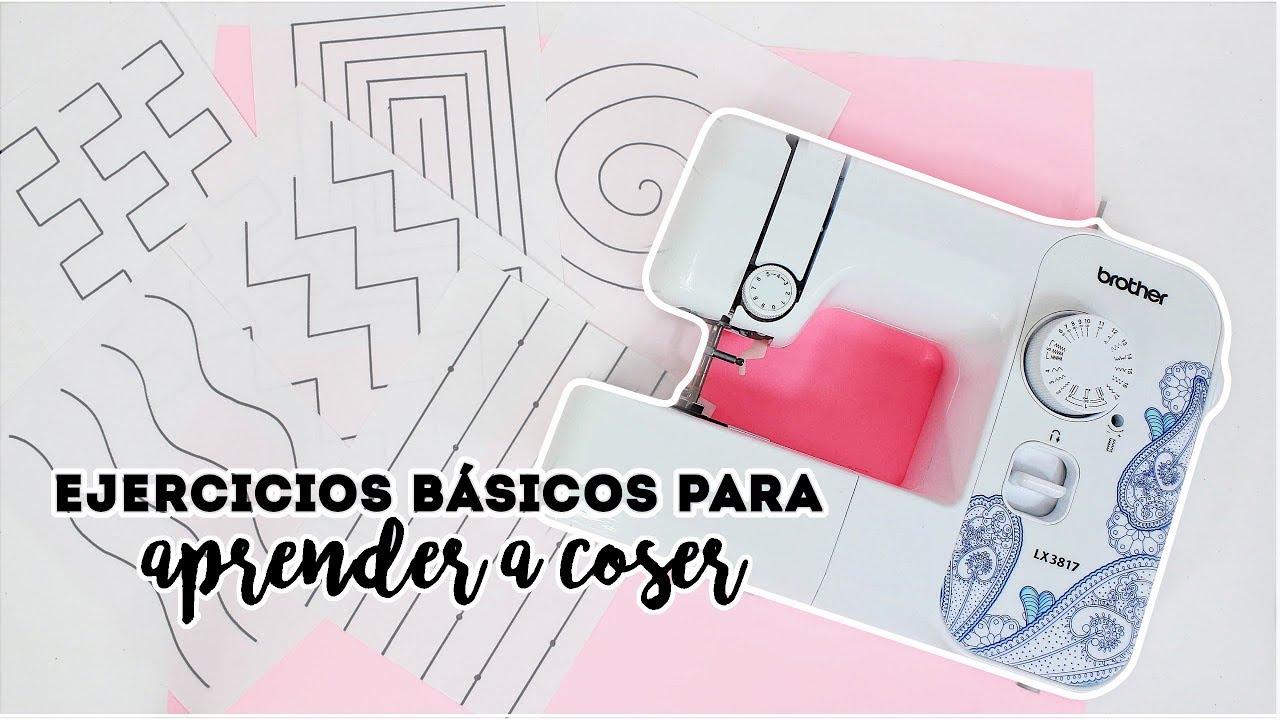 Ejercicios básicos para aprender a Coser ♡