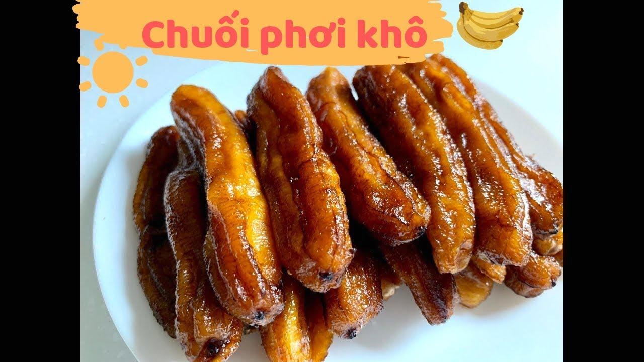 Chuối phơi khô ngon lành cành đào chưa bao giờ lỗi mốt || How to make Vietnamese dried banana