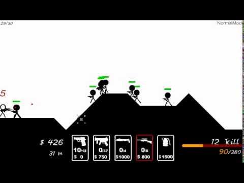 Война мелких человечков - Стрелялка для мальчиков