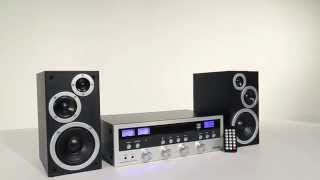 CD Stereo System with Bluetooth (ITCDS-5000)