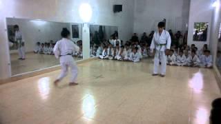 thi ln đai nu 28 12 lộc vs dương karate cđsp nghệ an