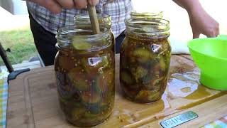 World FAMOUS DIY Bread and Butter PICKLES | How To Make Grandmas Depression Style Sweet Pickles