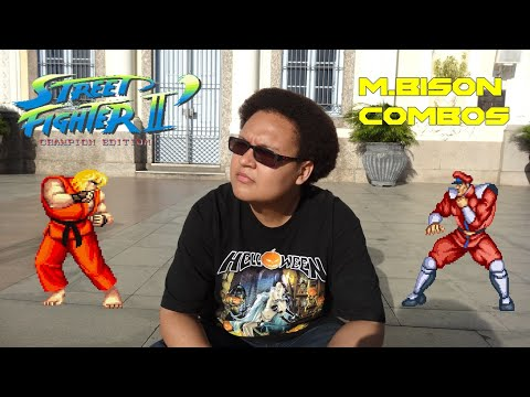 M.BISON - Combo Street Fighter 2 Champion Edition