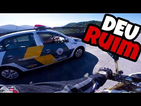 ENQUADRO DA POLICIA RODOVIÁRIA   DEU RUIM