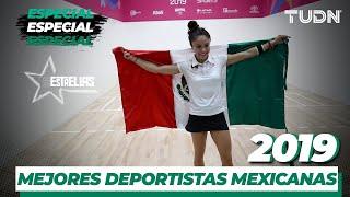 Las mejores deportistas mexicanas del 2019  | TUDN