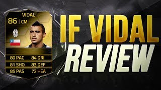 FIFA 14 UT - IF VIDAL PLAYER REVIEW - CHE BESTIA!