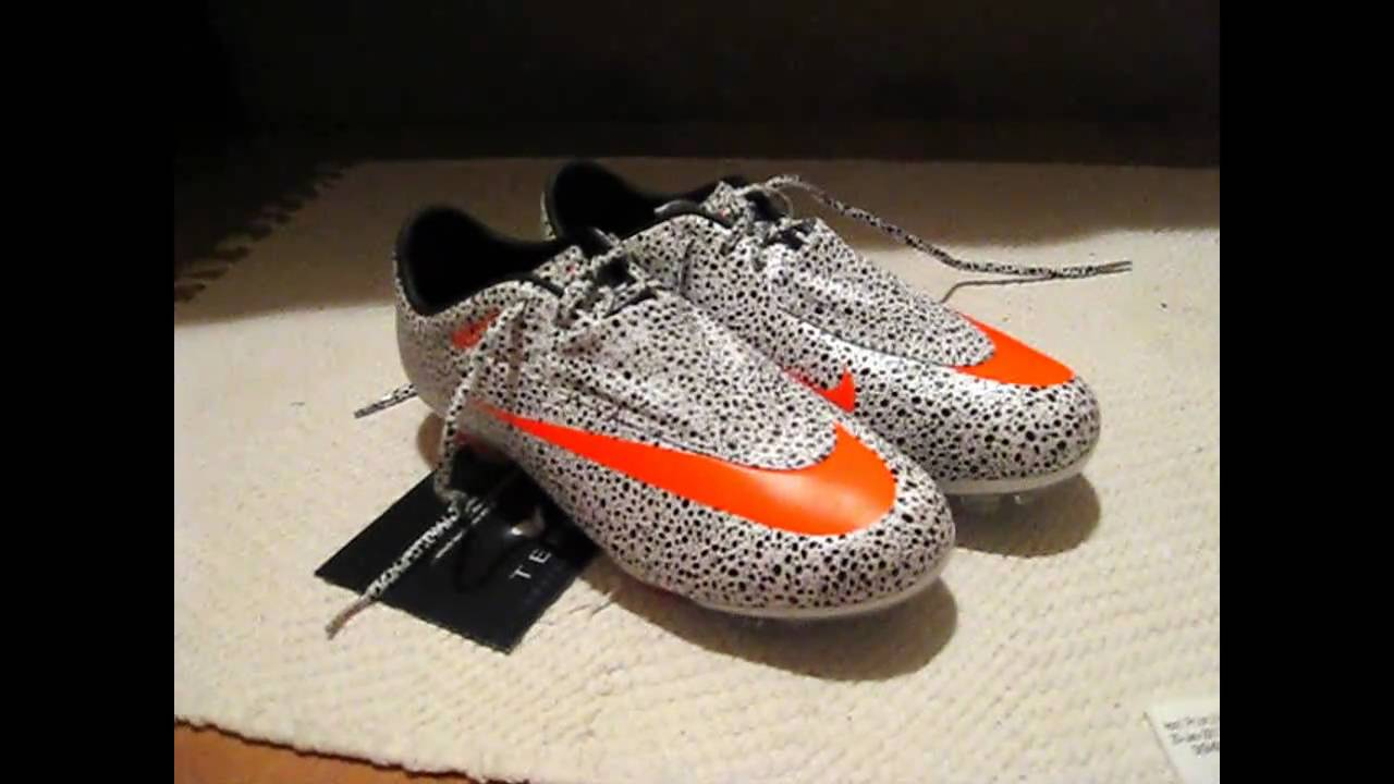 fad2f173e Nike Mercurial Vapor VI Safari Unboxing - YouTube