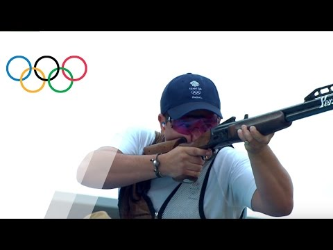 Independent athlete Aldeehani wins gold in Men's Double Trap