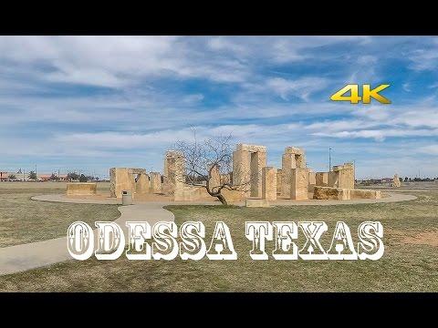 Odessa Texas / Permian Basin UTPB Road Tour 4k