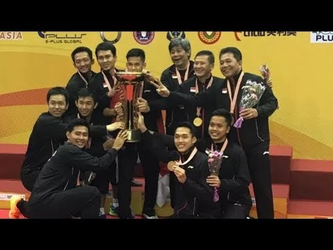 Live Final INDONESI vs China - Badminton Asia Championships 2018. [DOA GAESS!!]