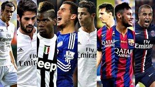 Best Dribbling Skills 2016 Ft ● Bale ● Isco ● Pogba ● Hazard ● Ronaldo ● Messi ● Neymar ● Lucas HD