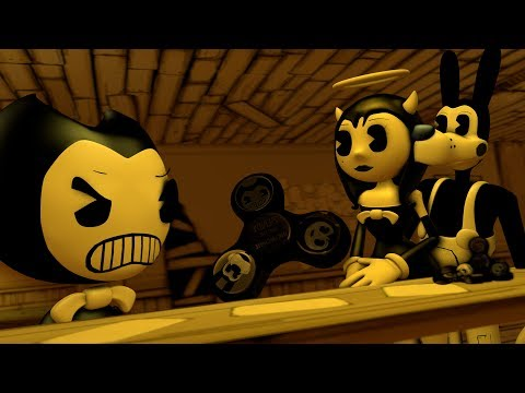 [BENDY FIDGET SPINNER SFM] ALICE vs BORIS vs INK Bendy Animation Compilation SCENE MOVIE SEASON  9