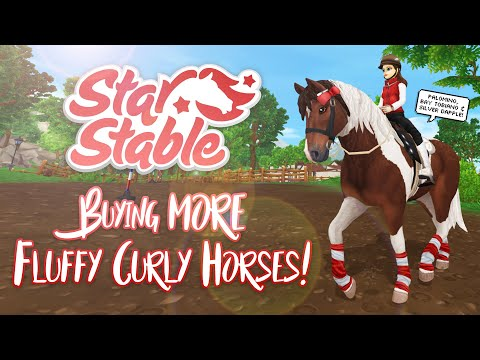 Buying MORE Fluffy Curly Horses! | Star Stable Updates