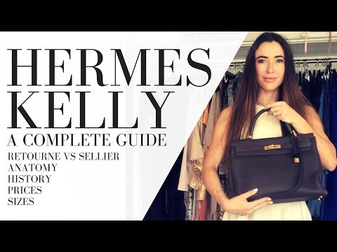 HERMES KELLY BAG | COMPLETE GUIDE: history, sizes, styles & prices