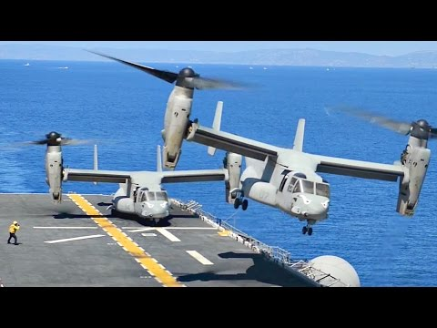 Wasp-class Amphibious Assault Ship - Flight Deck Operations (USS Boxer)