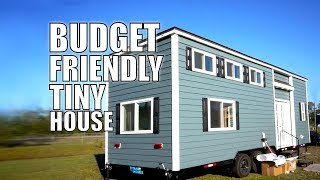 Budget Friendly Tiny House - Fireplace, Big Couch & 2 Lofts | Thow Living