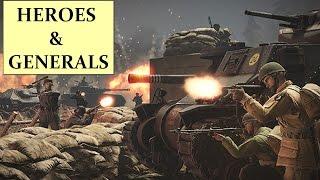 HEROES & GENERALS A la découverte du jeu HD 1080p FR