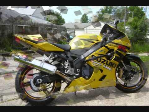 04 Suzuki GSXR 600 mods - YouTube