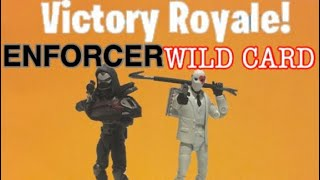 ENFORCER/WILD CARD FORTNITE STOP MOTION FIGURE REVIEW