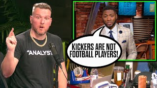 Pat McAfee Reacts To ESPN Analyst Saying Kickers Aren't Football Players