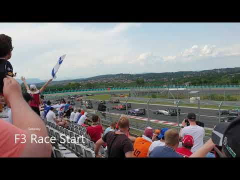 F1 2019 Hungary GP weekend Fan Footage compilation