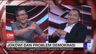 Debat Panas! Rocky Gerung vs Taufik Basari Soal Komitmen Jokowi Berantas Korupsi #KupasTuntas