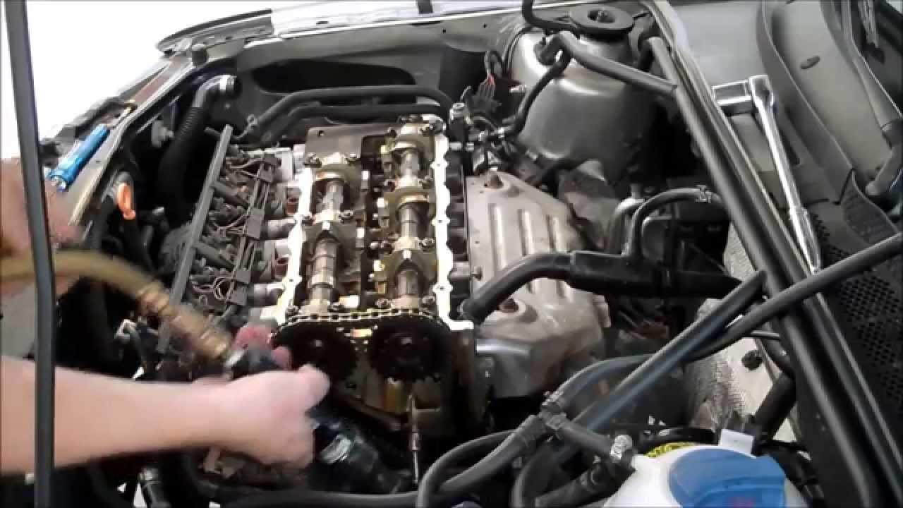 vr6 upper timing chain guide replacement how to diy golf jetta rh youtube com vr6 cam timing marks VR6 Engine Head