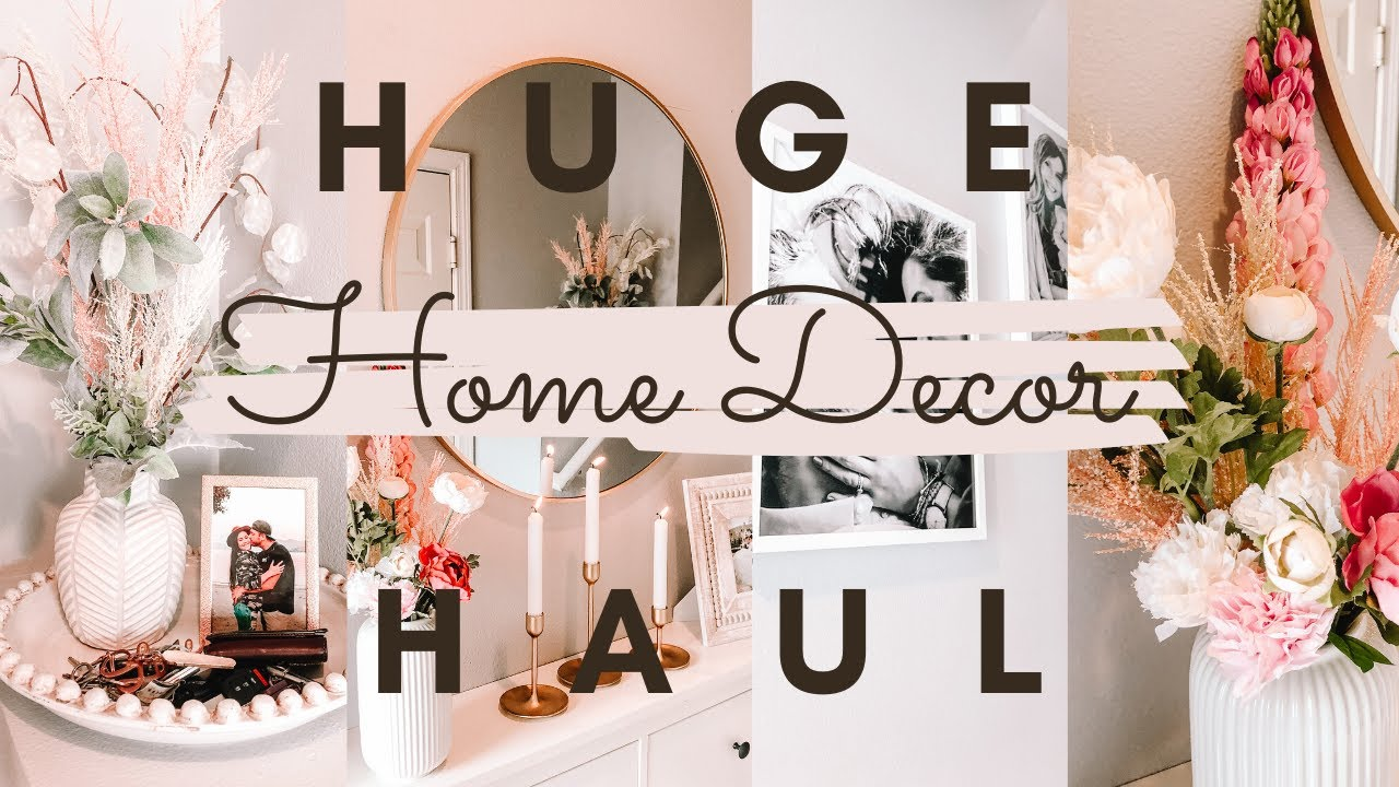 Huge IKEA Home Decor Haul & Decorate my Entryway with Me! Major Home decor ideas on a budget!