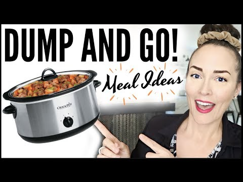 🤯DUMP AND GO CROCKPOT MEALS ✅ EASY SLOW COOKER RECIPES 🥘BATCHCOOKING LIKE A BOSS (KETO)
