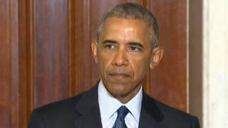 President Obama s press conference where he confronts Trump and GOP on radical Islam moniker