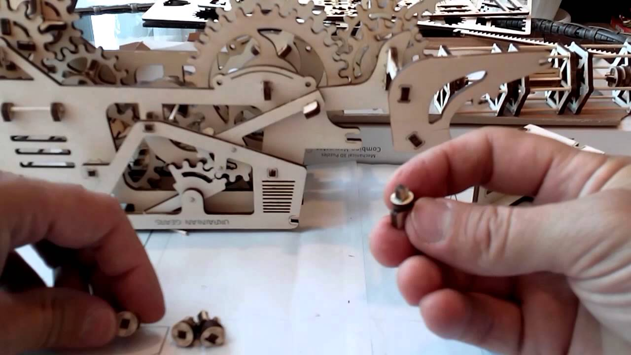 3D пазл Cubic Fun Капитолий - YouTube