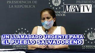 GOBIERNO DEL PRESIDENTE NAYIB BUKELE LE ASE UN LLAMADO A EL PUEBLO SALVADOREÑO